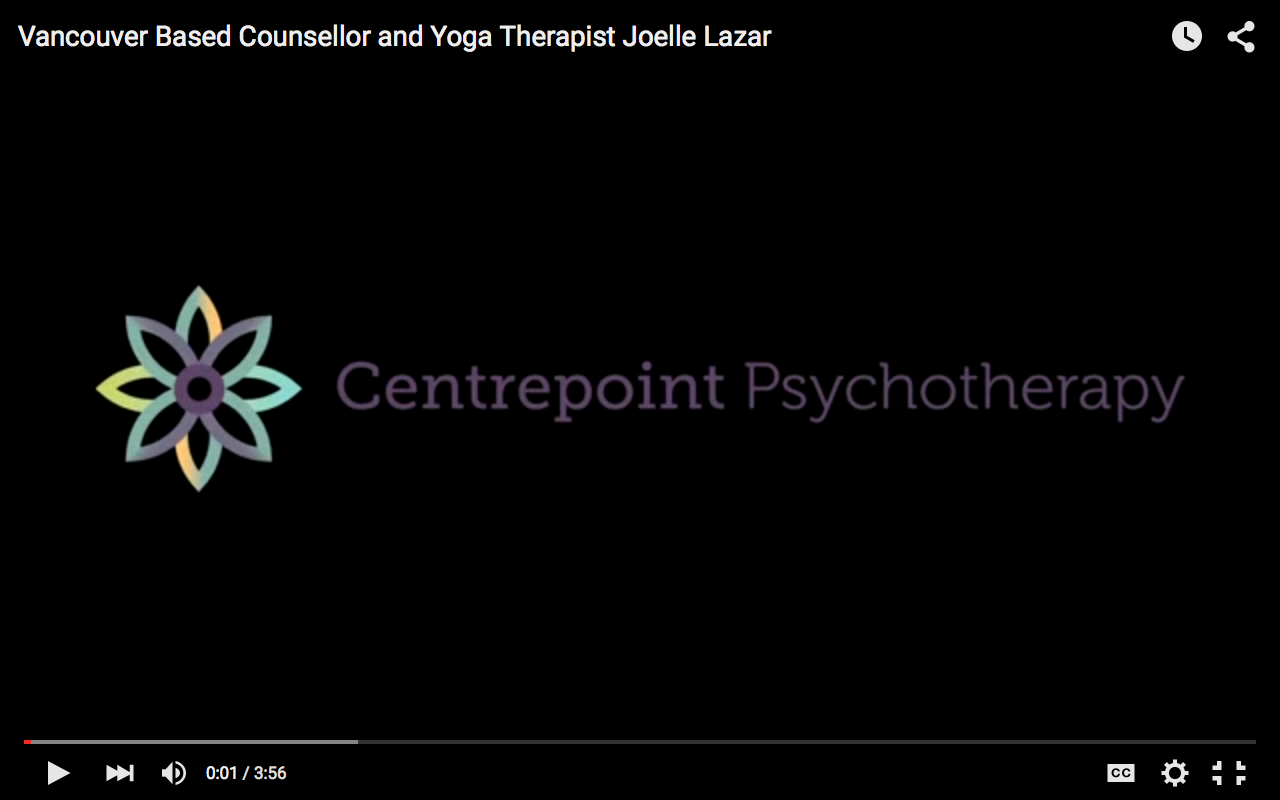 Video – Vancouver Counsellor, Joelle Lazar, on Healing